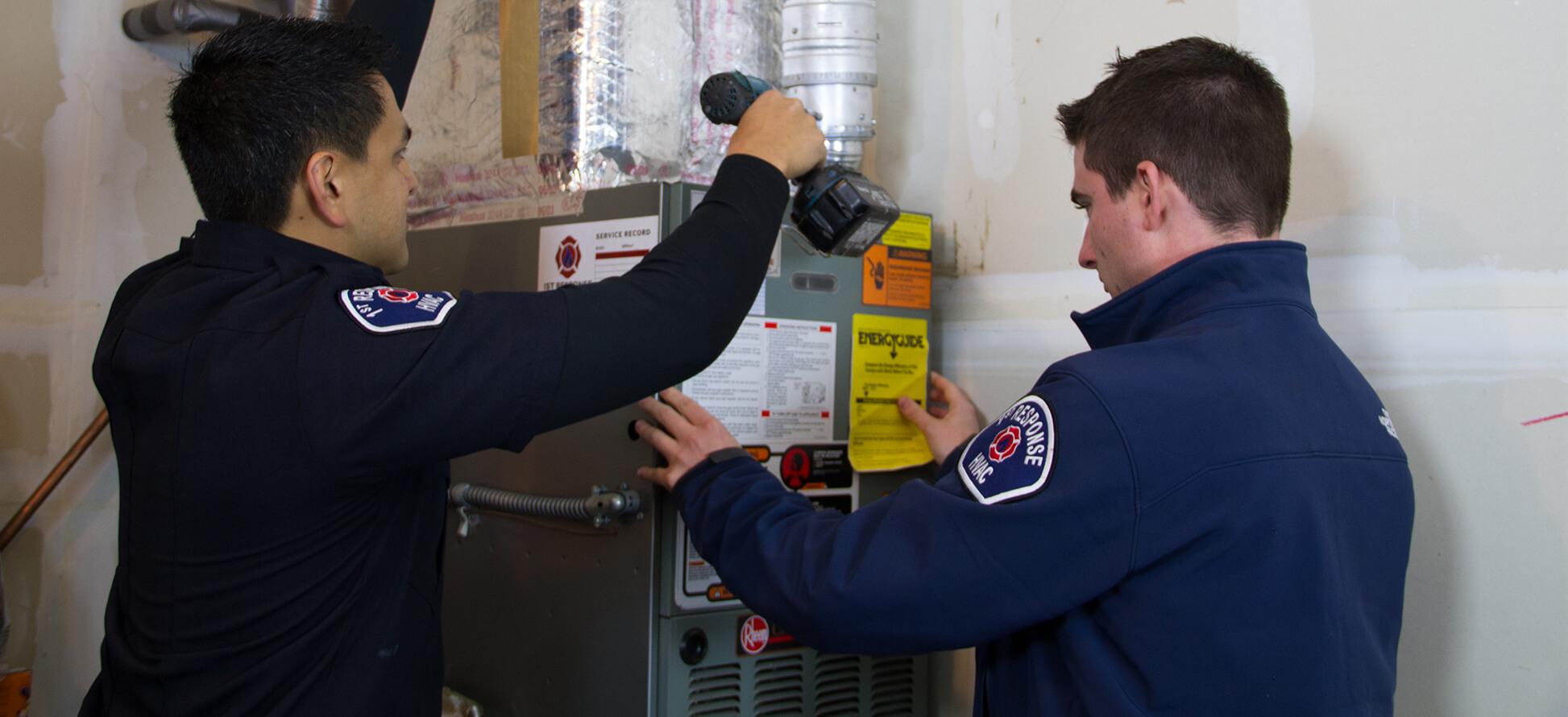 Slider1, 1st Response Heating & Air Solutions